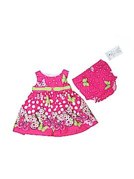Rare Editions Dress Size 3-6 mo