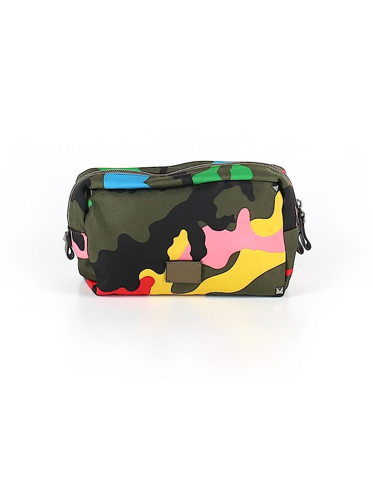 0306ca485d1e Valentino Garavani Camo Dark Green Makeup Bag One Size - 78% off ...