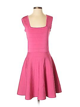 Pink Tartan Casual Dress Size S