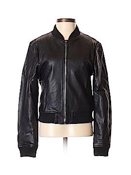 Mango Faux Leather Jacket Size XXS