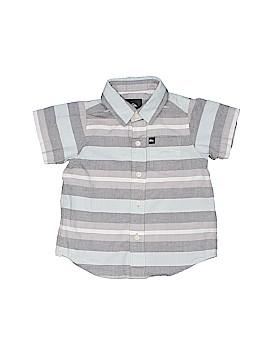 Quiksilver Short Sleeve Button-Down Shirt Size 2T