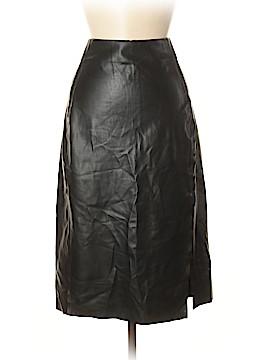 Ann Taylor LOFT Faux Leather Skirt Size 8 (Tall)