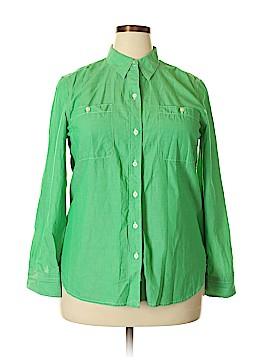 Lauren Jeans Co. Long Sleeve Button-Down Shirt Size XL