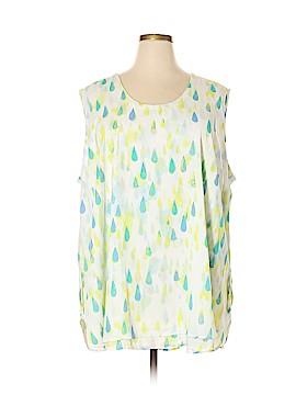 Melissa McCarthy Seven7 Sleeveless Blouse Size 4X (Plus)