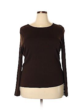 Jones New York Sport Long Sleeve T-Shirt Size 1X (Plus)