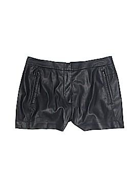 BCBGMAXAZRIA Faux Leather Shorts Size 4