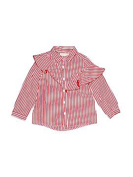 Zara Kids Long Sleeve Blouse Size 6