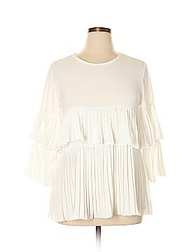 Boohoo Boutique 3/4 Sleeve Blouse Size 14