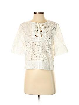 Sweewe Short Sleeve Blouse Size Sm - Med
