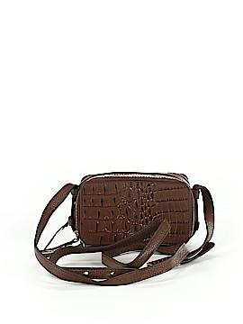 G.I.L.I. Leather Crossbody Bag One Size
