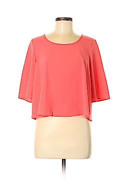 B Jewel 3/4 Sleeve Blouse Size M