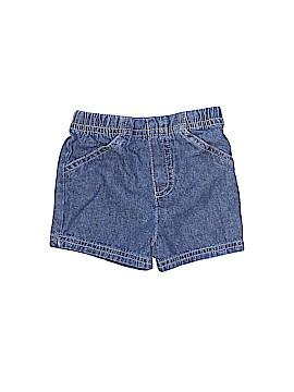 Okie Dokie Denim Shorts Size 0-3 mo