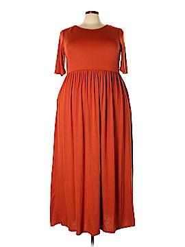 Zenana Outfitters Casual Dress Size 3X (Plus)