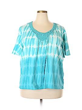 IZOD Short Sleeve Top Size 2X (Plus)