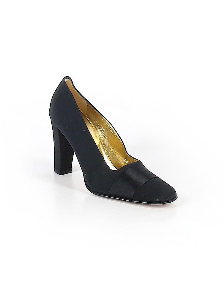 87cac63faf95 Anne Klein Solid Black Heels Size 8 1 2 - 67% off