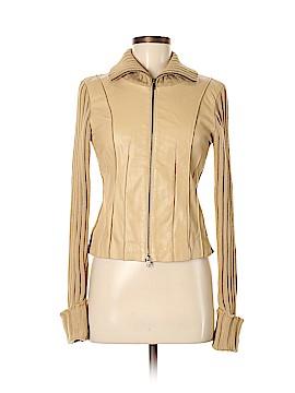 Bebe Leather Jacket Size M