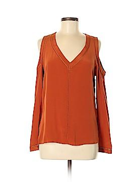 Bailey 44 Long Sleeve Silk Top Size S
