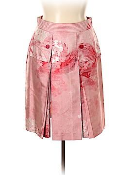 Carolina Herrera Silk Skirt Size 16