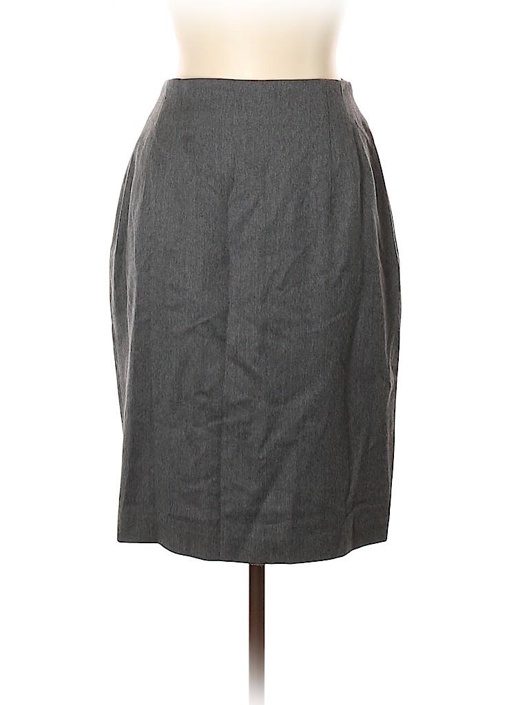 Lord & Taylor Women Wool Skirt Size 14