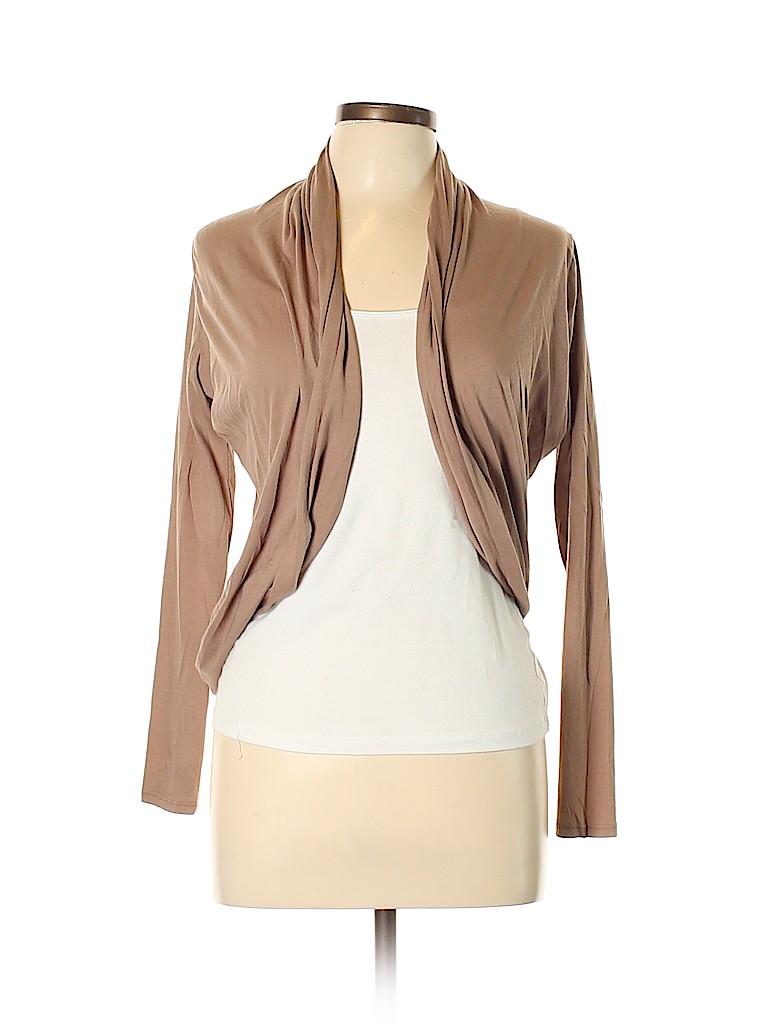 c558e3a0b7b Bobi 100% Cotton Solid Tan Cardigan Size S - 55% off