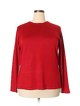 Tamotsu New York Silk Pullover Sweater Size 2X (Plus)