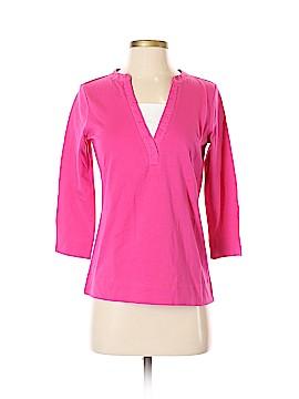 Lizwear by Liz Claiborne 3/4 Sleeve Top Size S