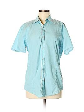 BOSS by HUGO BOSS Short Sleeve Button-Down Shirt Size M