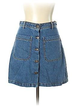 Zara W&B Collection Denim Skirt Size L