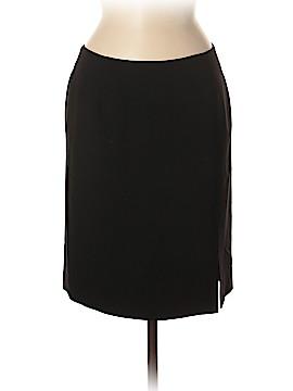 Oscar by Oscar De La Renta Wool Skirt Size 8