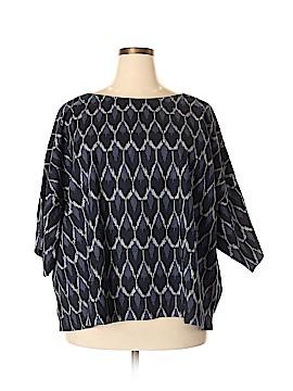 Purejill 3/4 Sleeve Blouse Size 3X (Plus)
