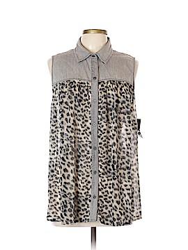 Style&Co Sleeveless Blouse Size L
