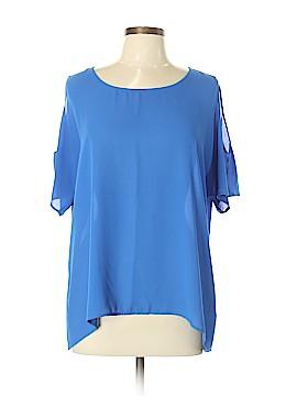 Chaus Short Sleeve Blouse Size L