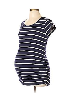 Rumor Has It! - Maternity Short Sleeve Top Size L (Maternity)