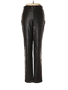 Frank Lyman Design Faux Leather Pants Size 8