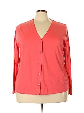 Cherokee Long Sleeve Button-Down Shirt Size 2X (Plus)