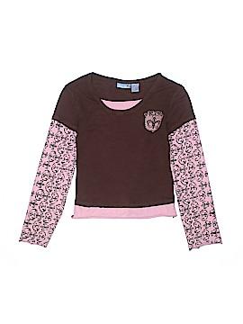 Blue Heart Long Sleeve T-Shirt Size 10 - 12