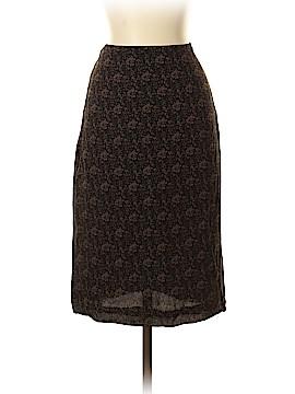 Casual Corner Silk Skirt Size 4