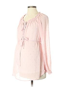 Jessica Simpson Long Sleeve Blouse Size S (Maternity)