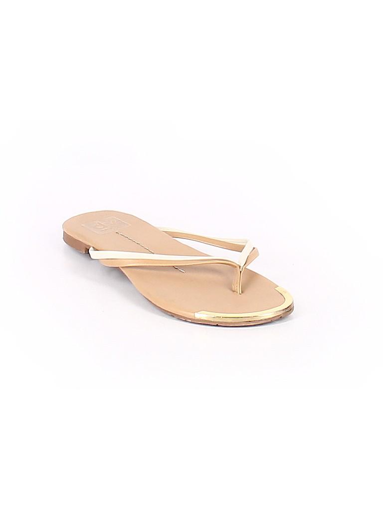 2b689e3c1f1 DV by Dolce Vita Solid Tan Flip Flops Size 7 - 60% off