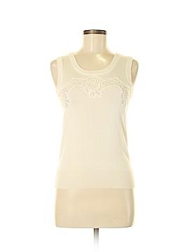 Dolce & Gabbana Sleeveless Silk Top Size 38 (IT)
