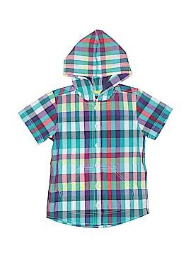 Tea Short Sleeve Button-Down Shirt Size 3T