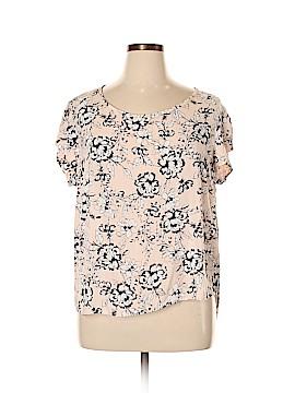 Carole Little Short Sleeve Top Size 1X (Plus)