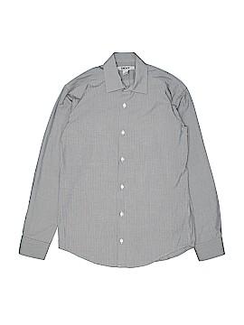 DKNY Long Sleeve Button-Down Shirt Size 14