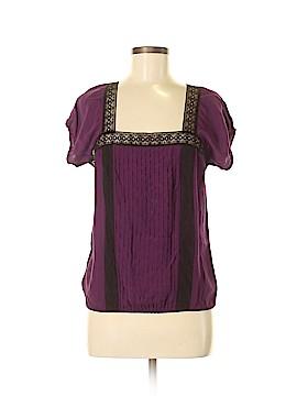Sophie Max Short Sleeve Blouse Size M