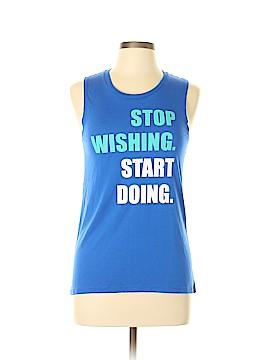Chin Up Sleeveless T-Shirt Size M