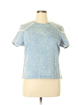 Denim Co Short Sleeve Blouse Size 12