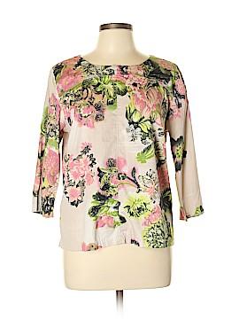 Julienne W. 3/4 Sleeve Top Size L