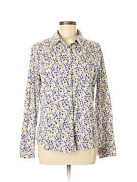 Banana Republic Factory Store Long Sleeve Button-Down Shirt Size L