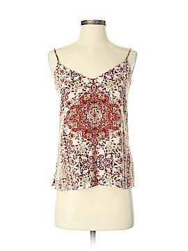 L'Agence Sleeveless Silk Top Size XS