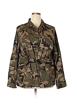 Cotton Express Jacket Size 3X (Plus)